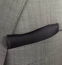 Pochette, zwart, zijde