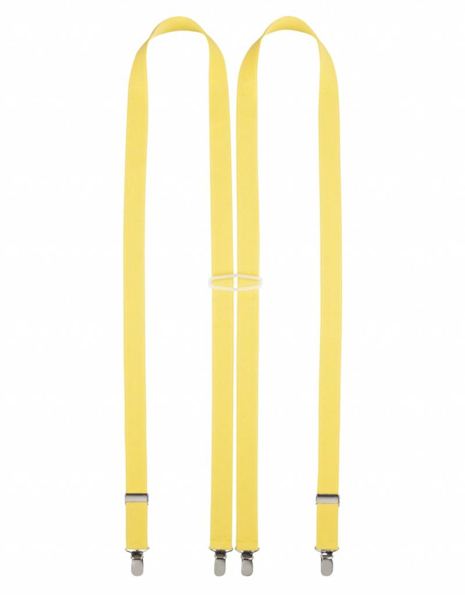 Bretel 24mm, geel.