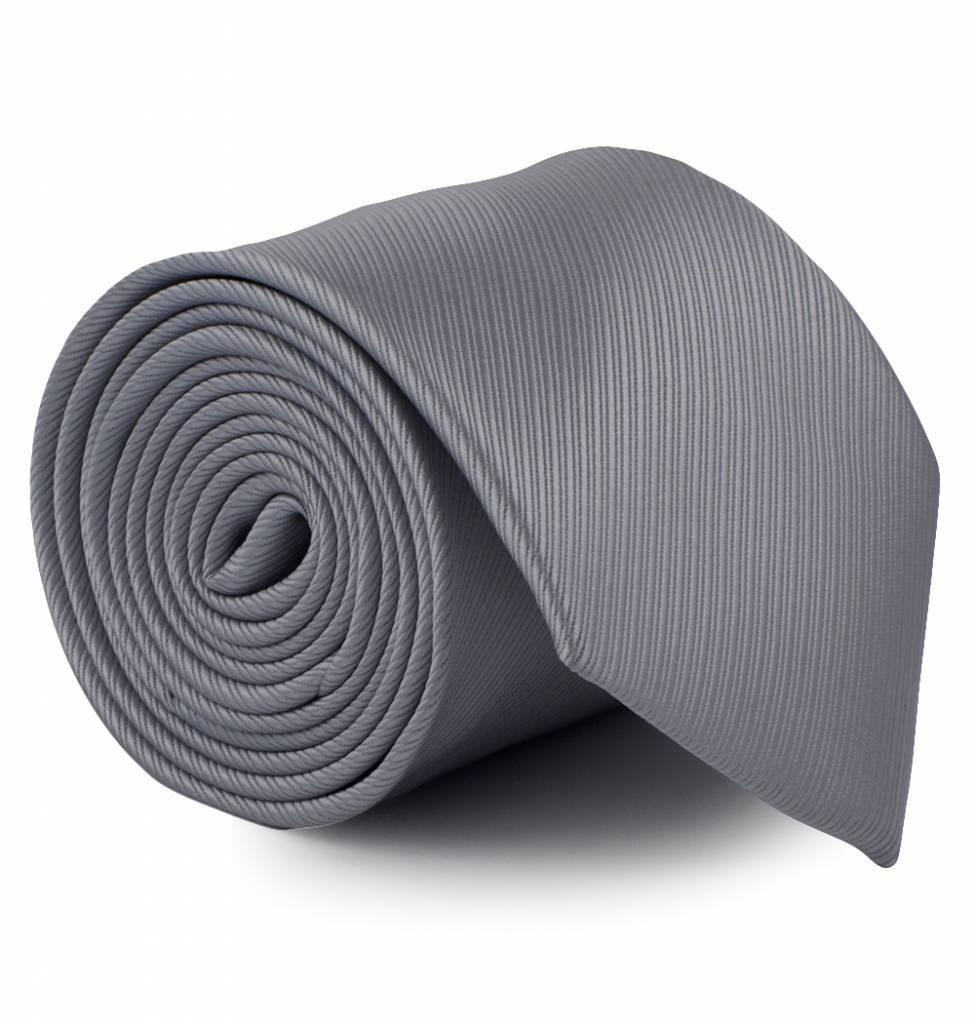 Midden grijze stropdas