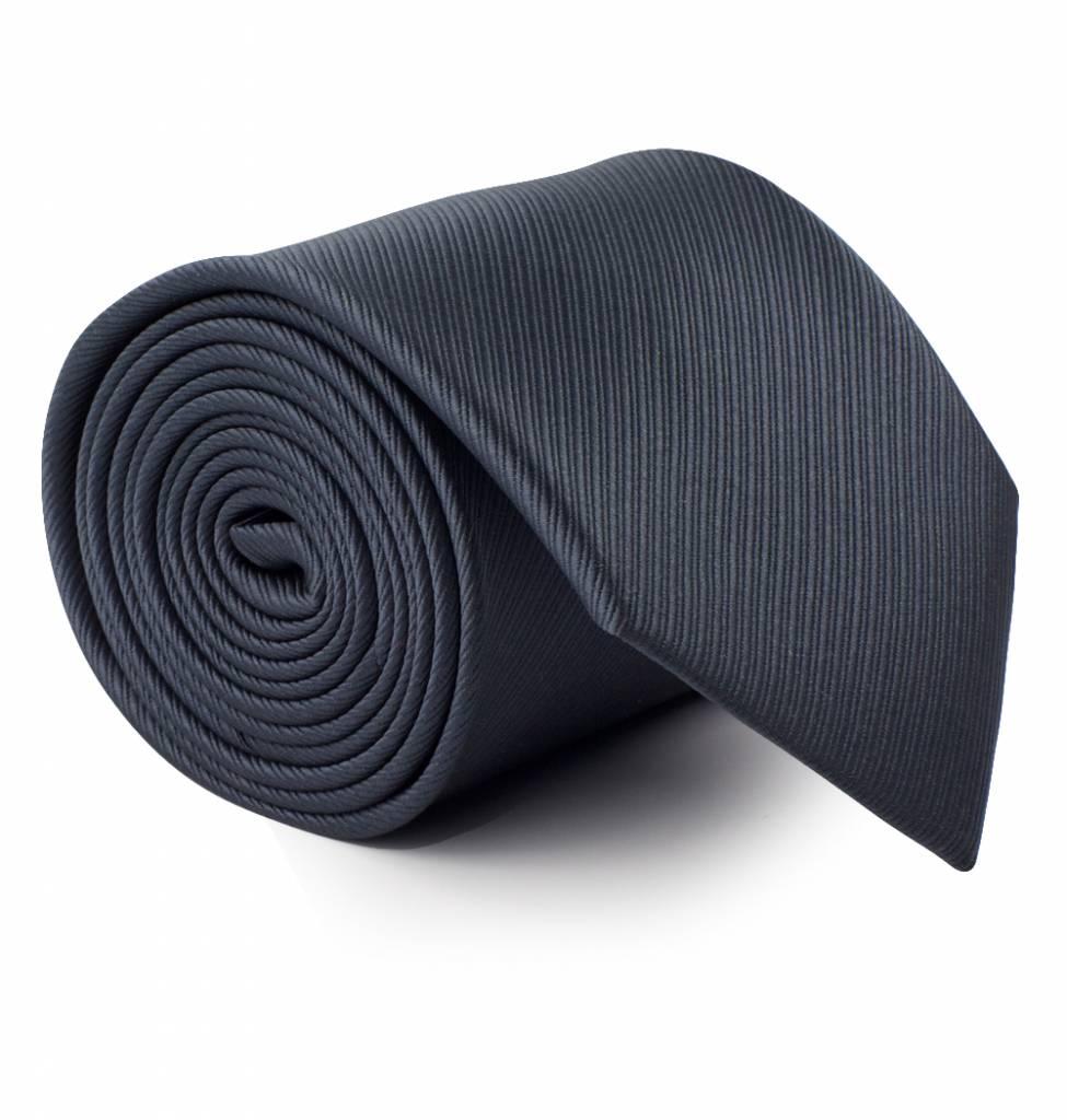 Antraciet-grijze stropdas