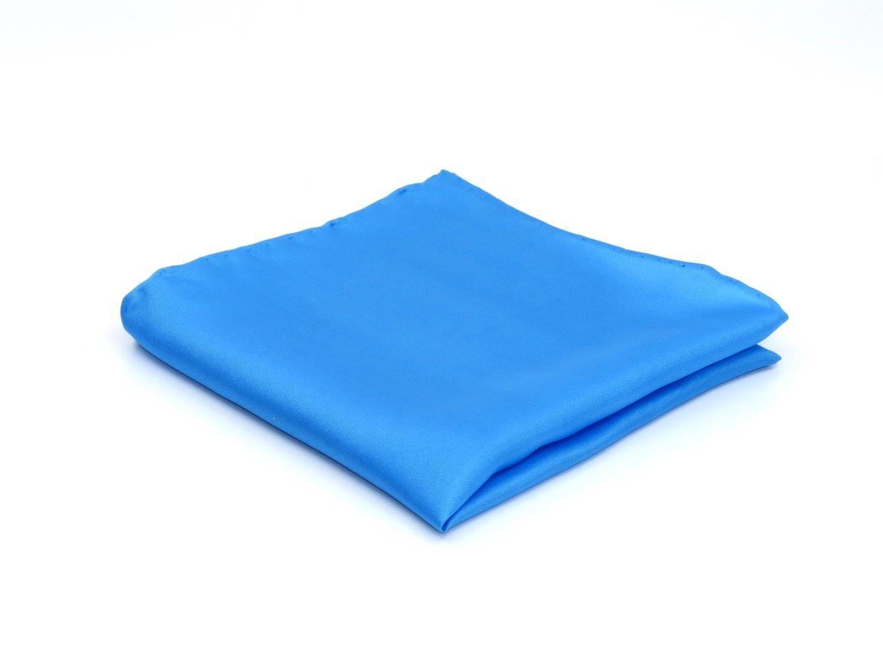 Pochet, kobalt blauw, gemaakt van 100%  zijde