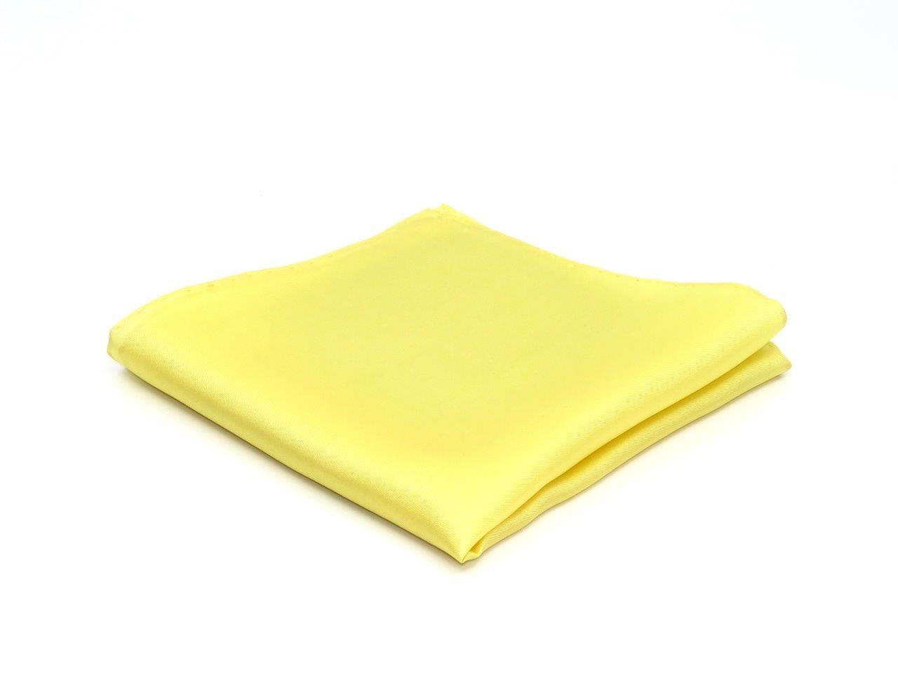 pochet, geel, gemaakt van 100% zuiver zijde