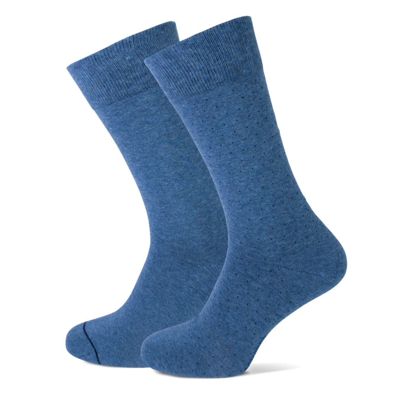 Sok, 2- pack, jeans blauw