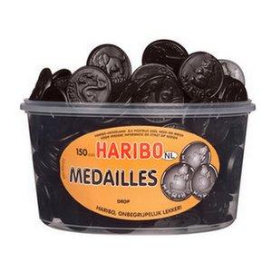 Haribo silo x150 drop medailles