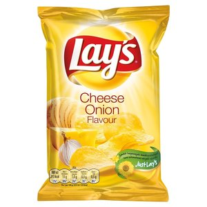 Lays 20x40gr cheese onion