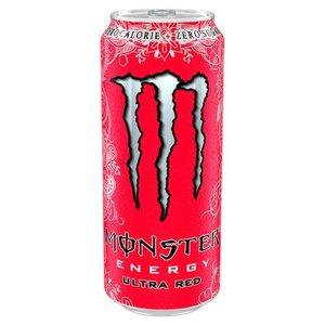 Monster blik 12x50cl ultra red