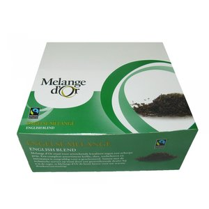 Melange d'or thee engelse 100x2gr + enveloppe