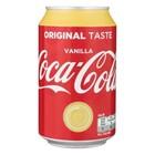 Coca cola blik 24x33cl vanille