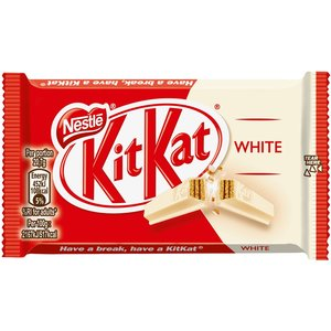 Kitkat 24x41.5gr single white