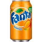 Amerikaans blik 12x355ml Fanta mango