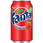 Amerikaans blik 12x355ml Fanta strawberry