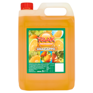 Raak siroop sinaasappel 5ltr.