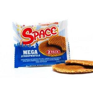 Space stroopwafels 24x80gr 2-pack
