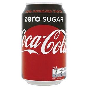Coca cola blik 24x33cl zero
