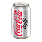 Coca cola blik 24x33cl light