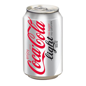 Coca cola blik 24x33cl light