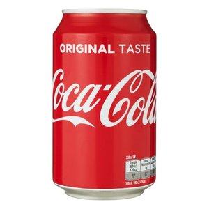 Coca Cola Coca cola blik 24x33cl regular