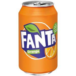 Fanta blik 24x33cl orange