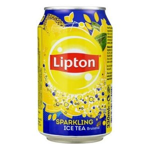 Lipton Lipton blik 24x33cl ice tea sparkling