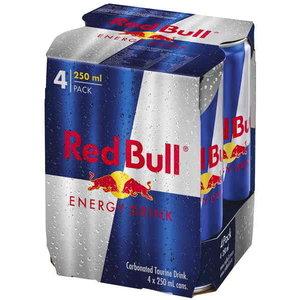 Red Bull 24x25cl blik 4-pack