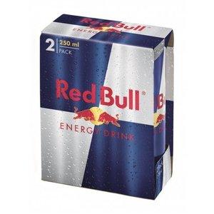 Red Bull 24x25cl blik 2-pack