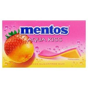 Mentos aqua x20 strawberry