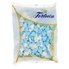 Fortuin geboortehartjes 1kg blauw wit (vruchtensmaak)