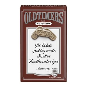 Oldtimers x6 zoethoudertjes (bruin)