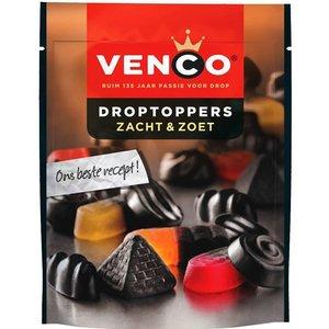 Venco droptoppers 10x255gr zacht zoet