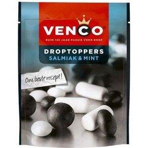 Venco droptoppers 10x255gr salmiak mint