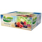 Pickwick x100 bosvruchten thee + env.
