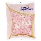 Fortuin geboortehartjes 1kg roze wit (vruchtensmaak)