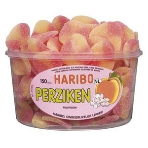 Haribo silo x150 perziken