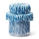 Candy canes blauw wit 14cm 72x12gr