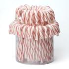 Candy canes roze wit 14cm 72x12gr