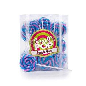 Swigle pop Swigle pop mini 50x12gr 4,5cm bubble gum