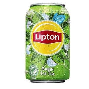 Lipton blik 24x33cl ice tea green