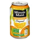 Minute maid blik 24x33cl orange