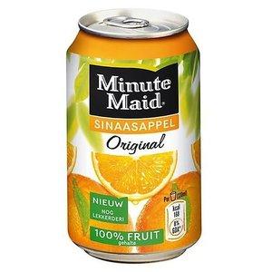 Minute maid blik 24x33cl orange