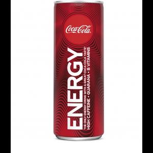 Coca cola blik 12x25cl energy