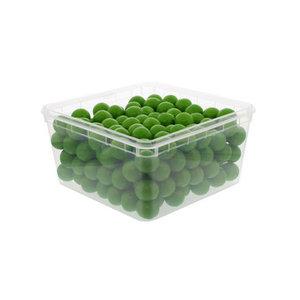 Kauwgomballen 25.5mm (200x 7.5gr) appel groen