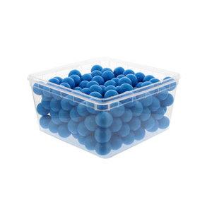 Kauwgomballen 25.5mm (200x 7.5gr) blueberry blauw