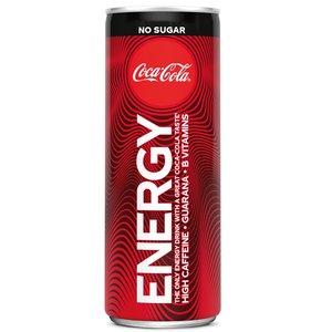 Coca cola blik 12x25cl energy zero