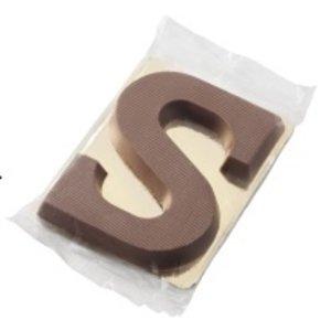 Sint schoenletter S/P melk (40 gram)