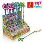 Carnaval (112) dinosaurus speeltje + snoep x18