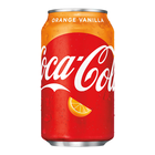 Amerikaans blik 12x355ml Coca cola orange vanilla