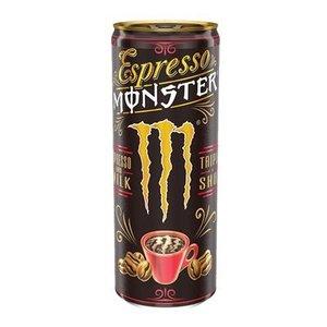 Monster blik 12x25cl espresso & milk