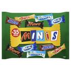 Carnaval (012) Minimix candybars 35st. 710gr