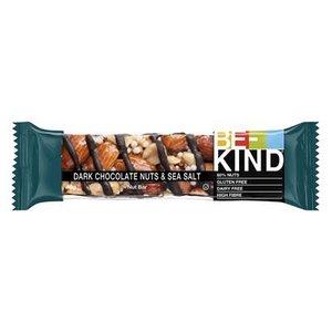 BeKind 12x40gr dark chocolat nuts & seasalt