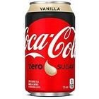 Coca Cola Coca cola blik 24x25cl zero vanille